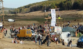 Zona a defendre (ZAD) in the south of France