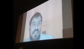 Enric from the Screen of Texas Cinema of Barcelona.